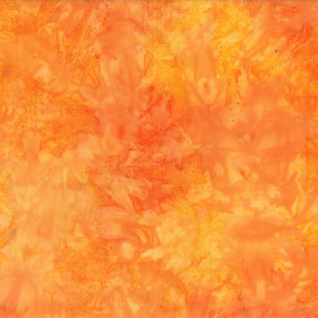 WILM- Orange Rock Candy Batik