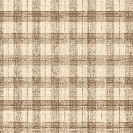 Blessings of Home 2680-32 Tan Monotone Check