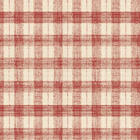 Blessings of Home 2680-82 Light Red Monotone Check