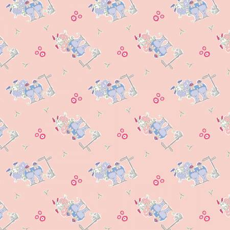 Tweedle Dee & Dum Alice In Wonderland Fabric by The V&A Collection
