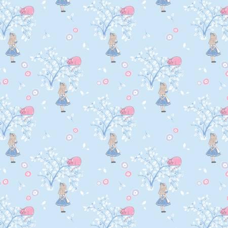 Cheshire Cat Children's Fabric
