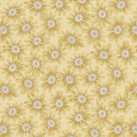 Blessings of Home 2683-44 Light Gold Sunflowers