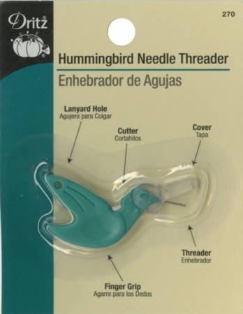 Hummingbird needle threaders