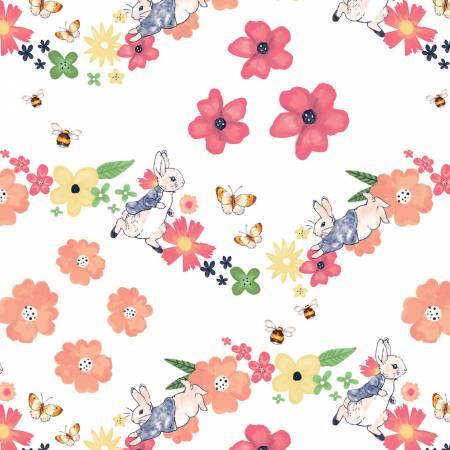 Larger Florals Peter Rabbit