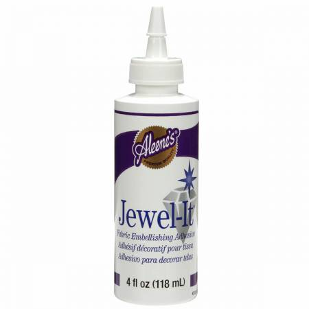 Aleene's Jewel It Fabric Glue 4 oz