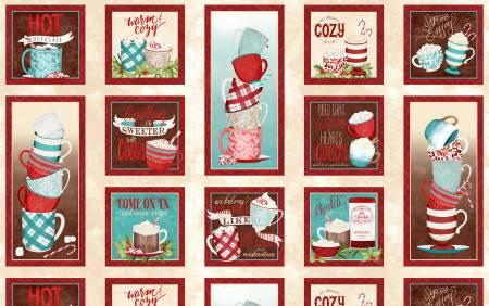 WILMINGTON Multi Cuppa Cocoa Craft Panel