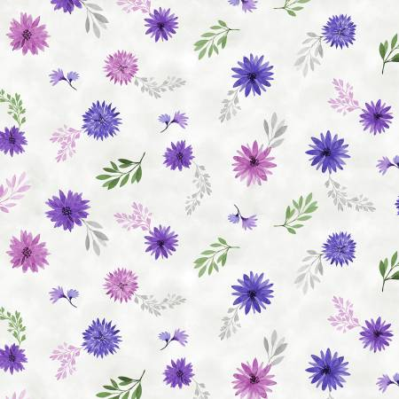 Amethyst Magic White Small Floral 27581-169