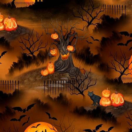Haunted Night 27588-289  Scenic Brown