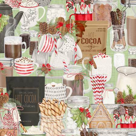 Green Packed Hot Cocoa Bar 27598-713