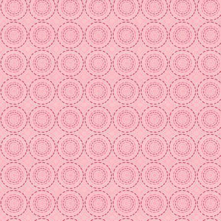 Sew Little Time Pink Quilting Circles 3017-27621-331