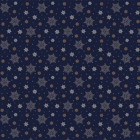 Metallic Christmas Snowflakes