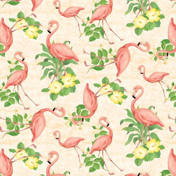Cream Flamingos