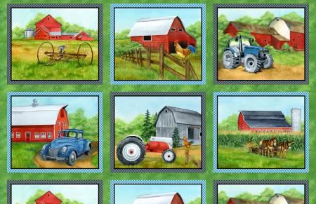 Green Mountian Farm Panel