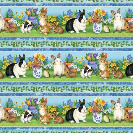 Garden Gathering - Repeating Stripe - 28124-471