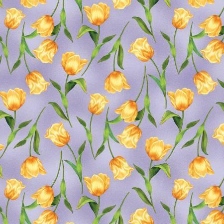 Garden Gathering - Purple Tulips - 28127-678