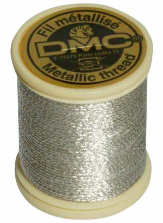 Metallic Embroidery Thread 3-ply 43.7yds