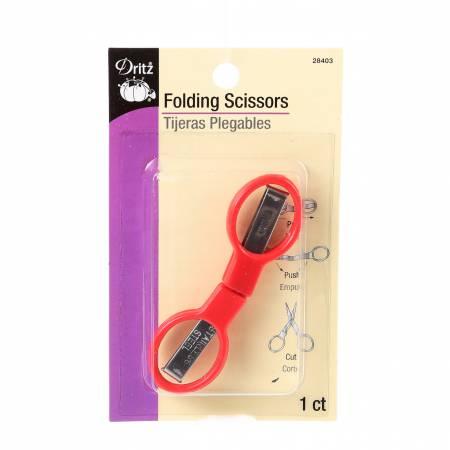 Folding Scissors with Plastic Handle - 28403