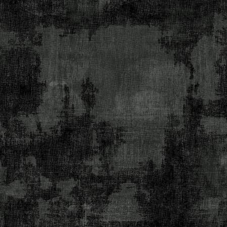 1884 28513 999 Black Dry Brush Flannel for Wilmington Prints. 100% cotton 43 wide
