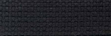 1 Cotton Webbing - Black