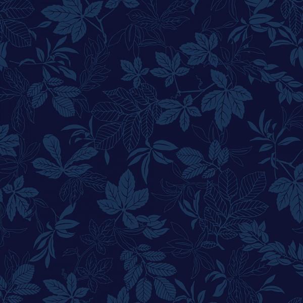 Modern Leaf Blue 108