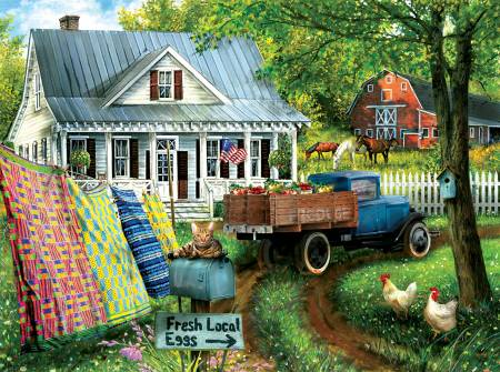 Country Side Living Puzzle 1000 Pieces