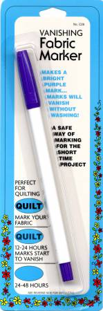 Air Erase Fabric Marker Purple