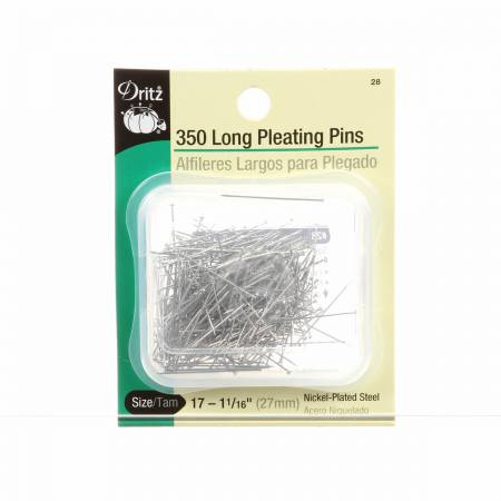 Long Pleating Pin Size 17 - 1 1/16in 350ct