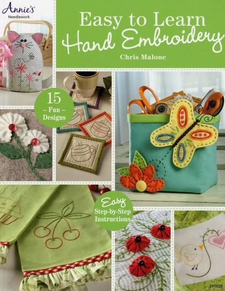 Easy to Learn Hand Embroidery - Softcover