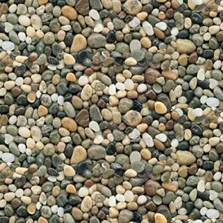 Multi Rock Pebbles Fabric