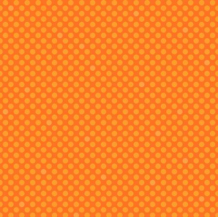 Orange Peel Polka Dots