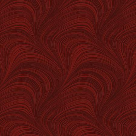 Wave Texture Dark Red
