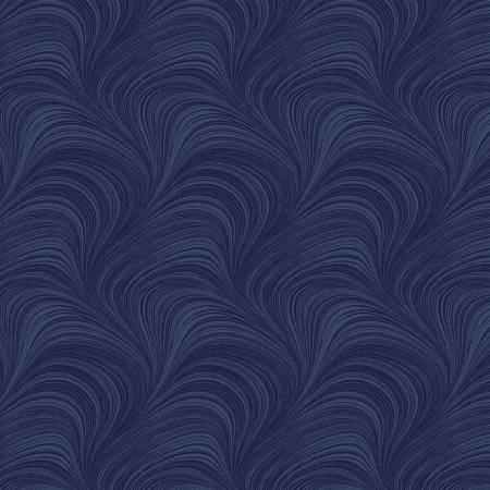 Navy Wave Texture