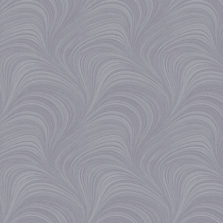 Grey Pearlescent Wave Texture