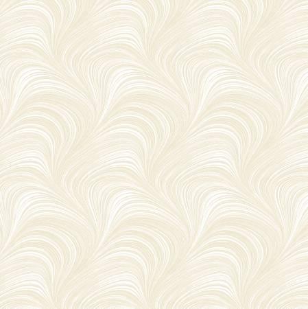 Cream Wave Texture 108in Wideback