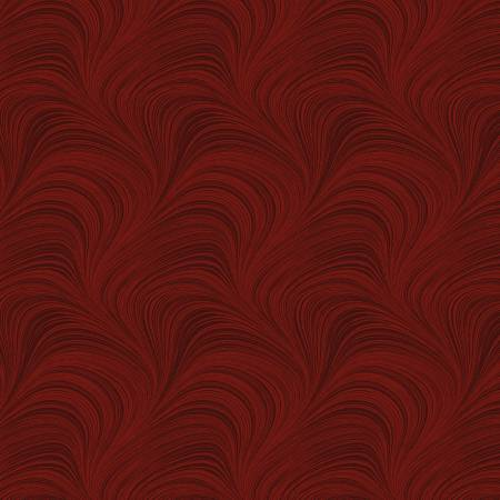 Wide Wave Texture 108 Red