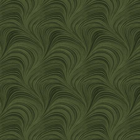 Wide Wave Texture 108 Green