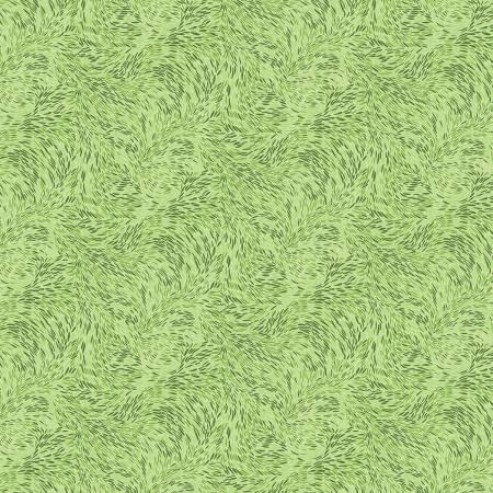 Seed Scrolls Lt Green