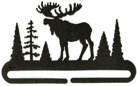 6in Split Bottom Holder Alaska Moose Charcoal