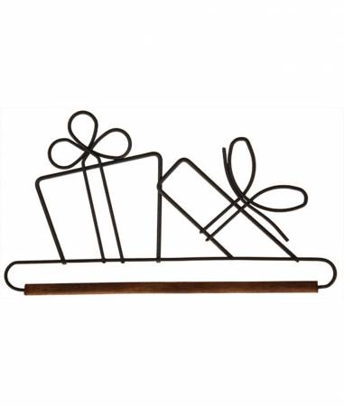 6in Gifts Dowel Holder Grey