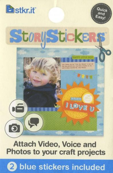 Story Stickers Red 2 Pack