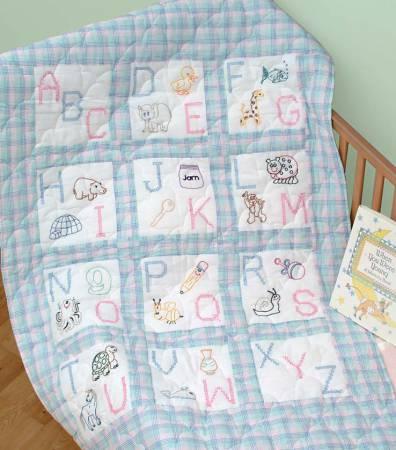 abc's quilt block set
