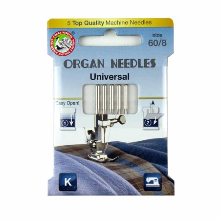 Organ Universal Needle Size 60/8 5pk - 3000100