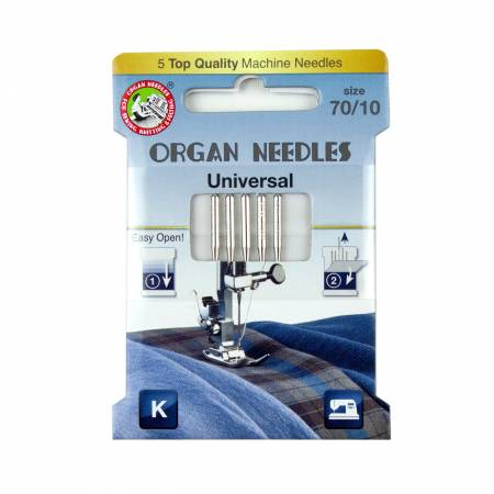 Organ Universal Needle Size 70/10 5pk - 3000101