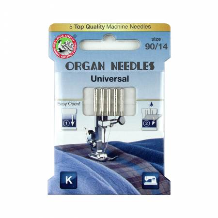 Organ Universal Needles Size 90/14 5pk - 3000103