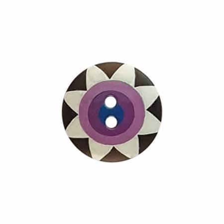 Kaffe Fassett Button Star Flower Lg 20 MM