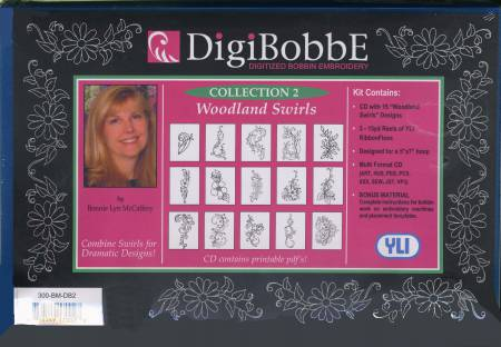 DigiBobbE - Software Collection 2 - Woodland Swirls
