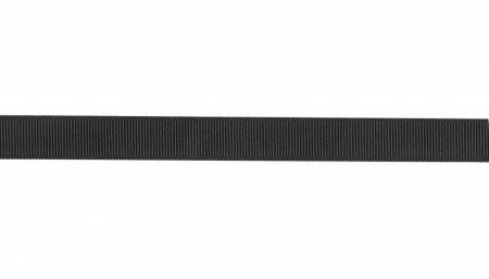 Grosgrain Ribbon Black 5/8in