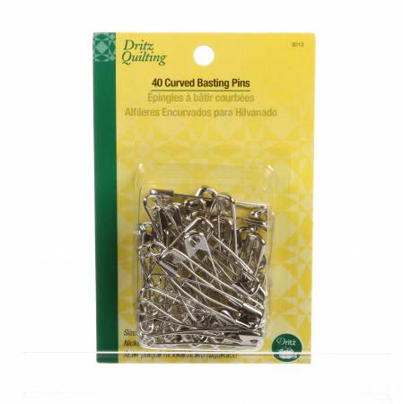 Curved Basting Pin Size 3 40ct