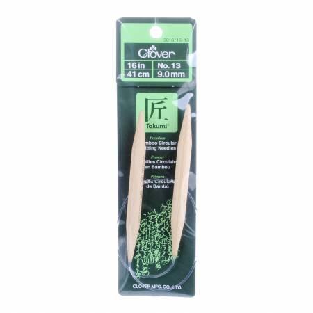 Clover Takumi Bamboo 16 Circular Knitting Needle