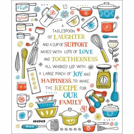 Multi Family Recipes Panel 36in
